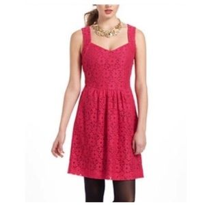Anthropologie Deletta Silverfield Sweetheart Dress